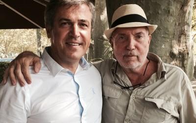 Visite de Bernard Lavilliers à l'Argenson