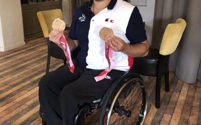 Maxime THOMAS Médaillé Paralympique à l'Argenson